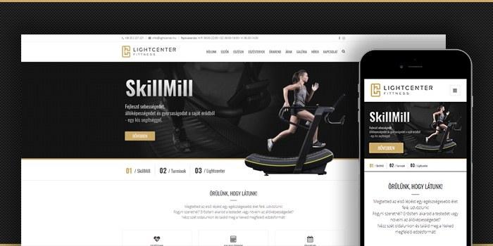 Megújultunk: konditermünk új honlapja